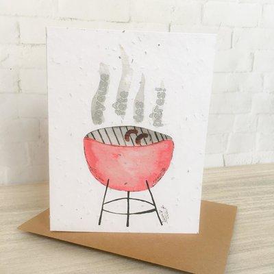 Kit de Survie Carte ensemencée - BBQ (fête des pères!)