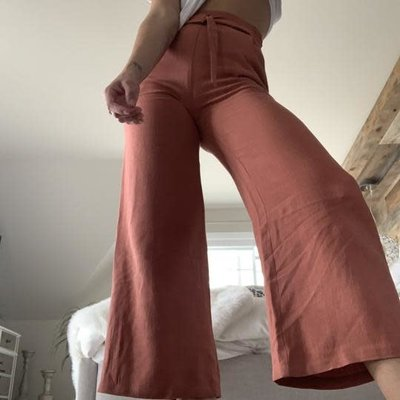 Dailystory clothing Mia - Pantalon Terracotta