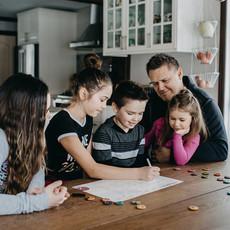 Minimo Organisateur familial une semaine à la fois – Vertical