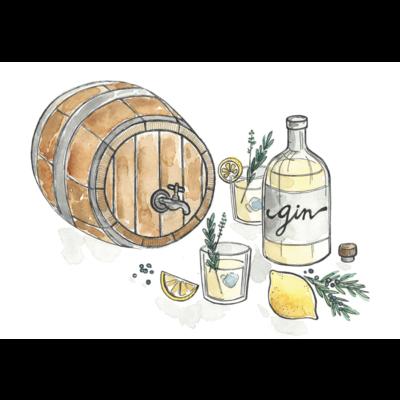 Stéphanie Renière Carte - Gin