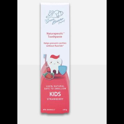 The Green Beaver Company Pâte à dents pour enfant - Fraises