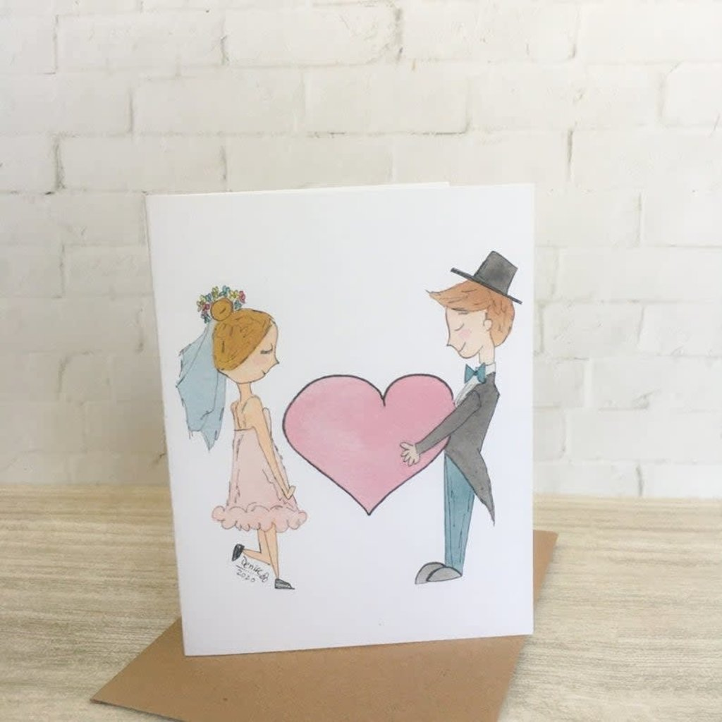 Kit de Survie Carte ensemencée - Jeunes mariés