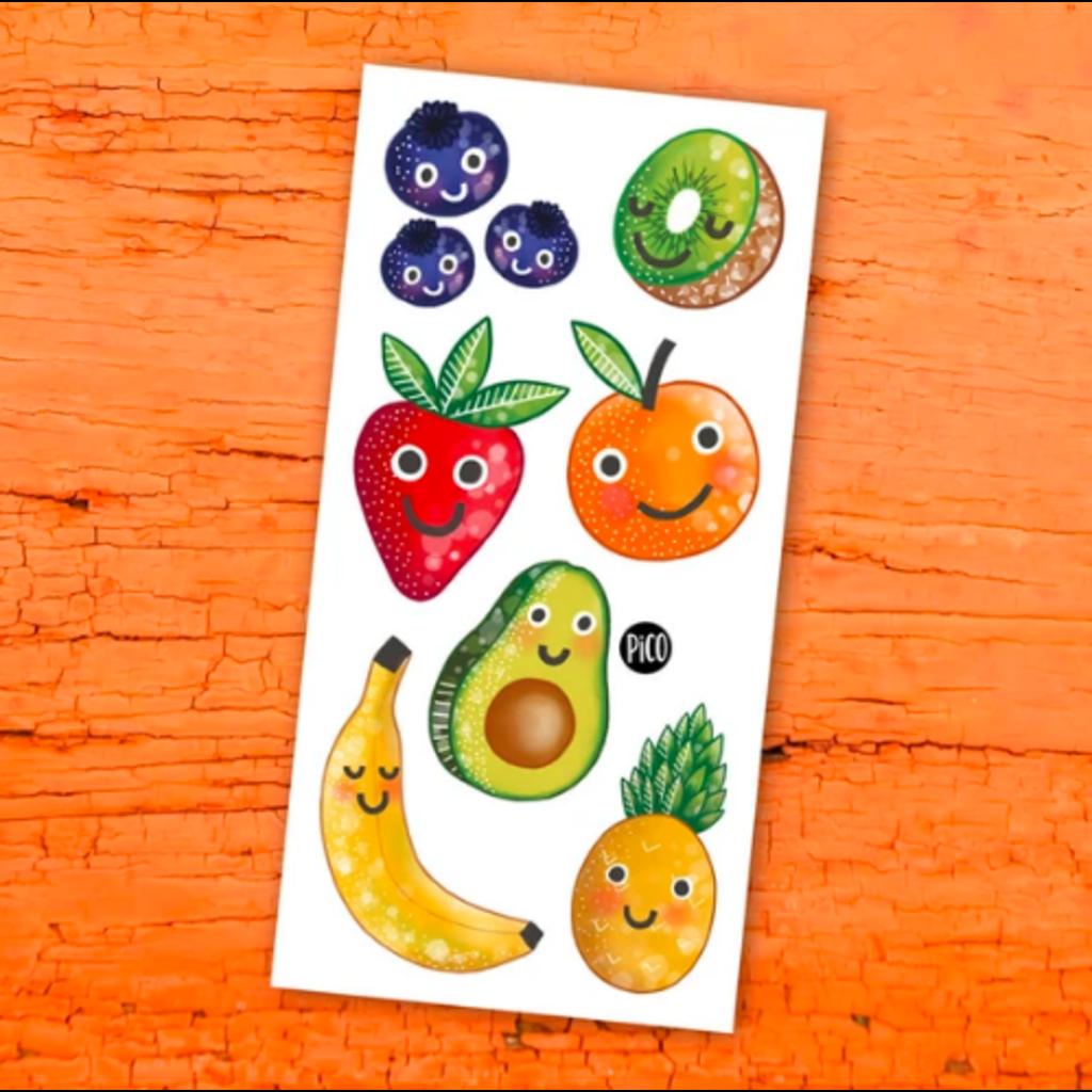 Picotatoo Tatouage - Les fruits