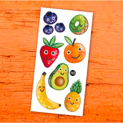 Picotatoo Tatouage - Les fruits