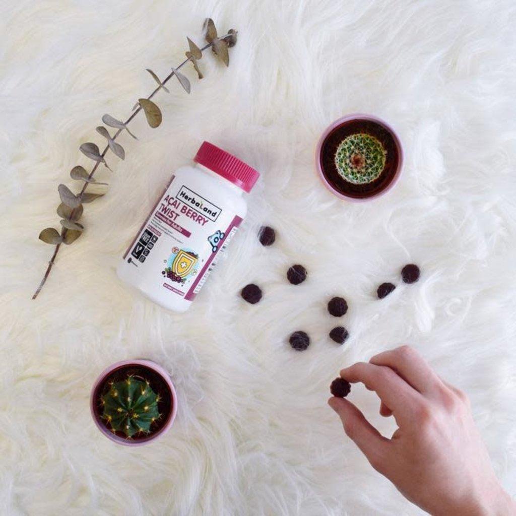 Herbaland Gummies - Twist d'açai