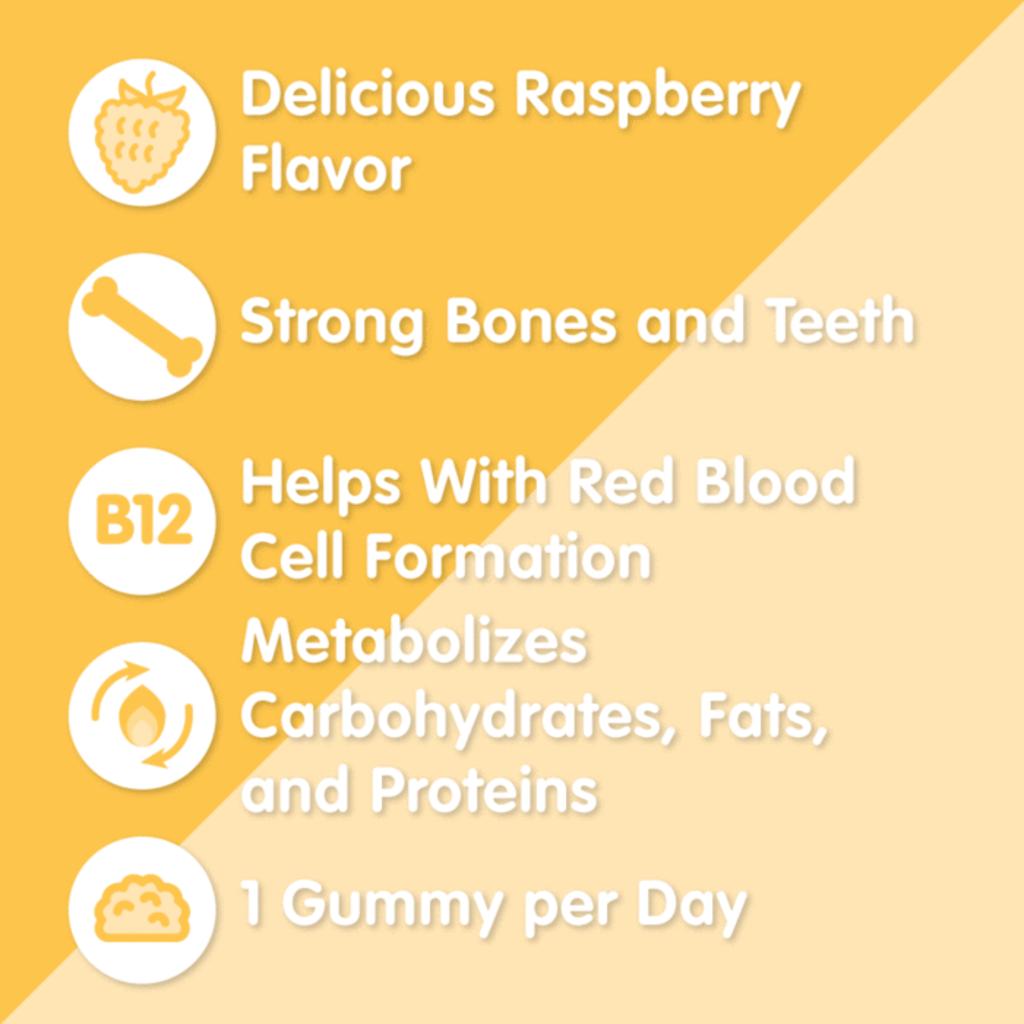Herbaland Gummies - D3 et B12 végétaliennes