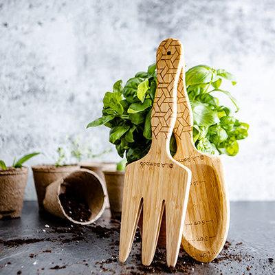 OLA Bambou Outils de jardinage en bambou