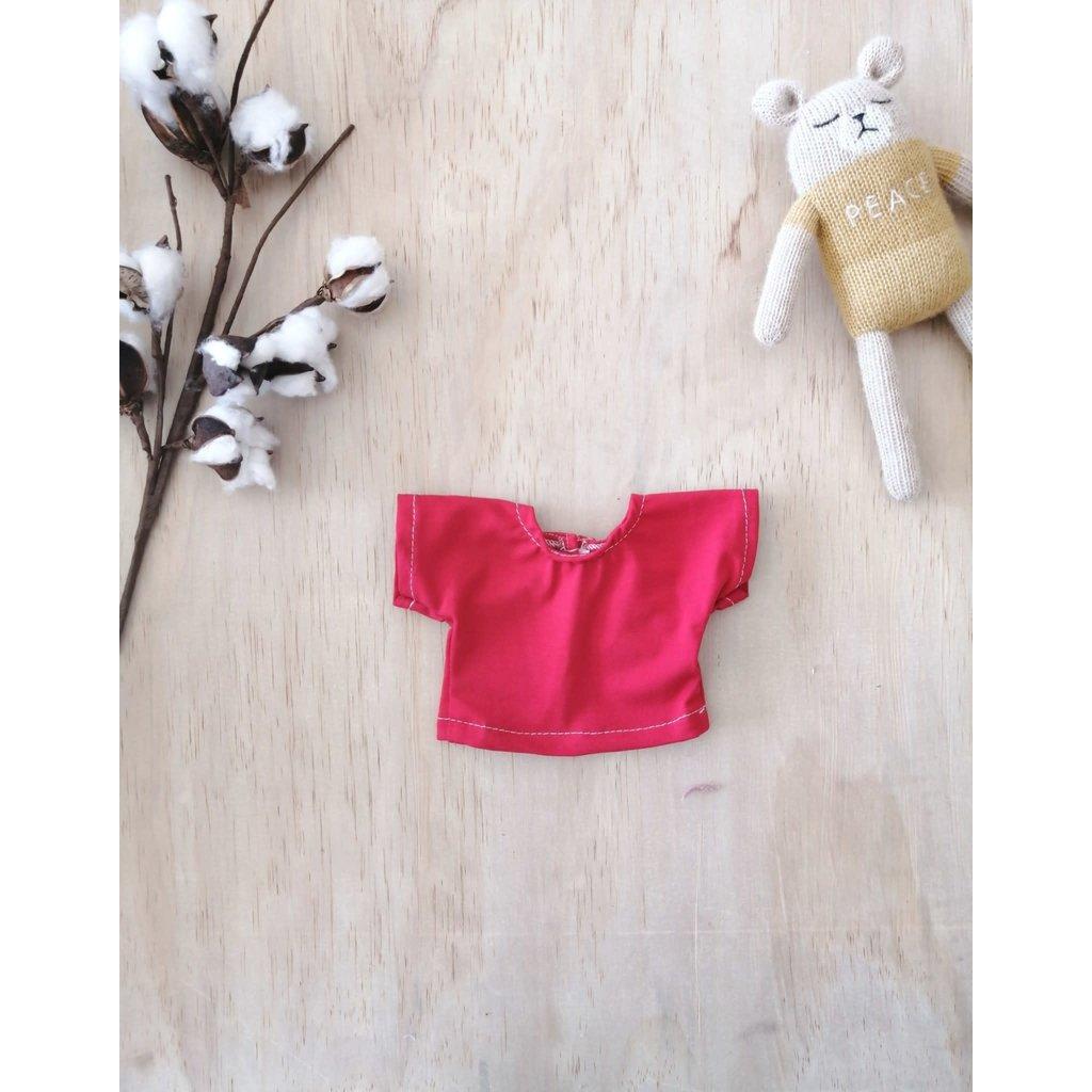 Paola Reina Chandail pour poupée - Rouge