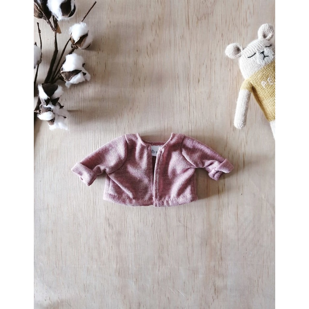 Paola Reina Cardigan rose pour poupée