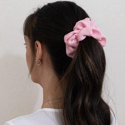 Enrose.bytu Chou à cheveux - Sporty Pink