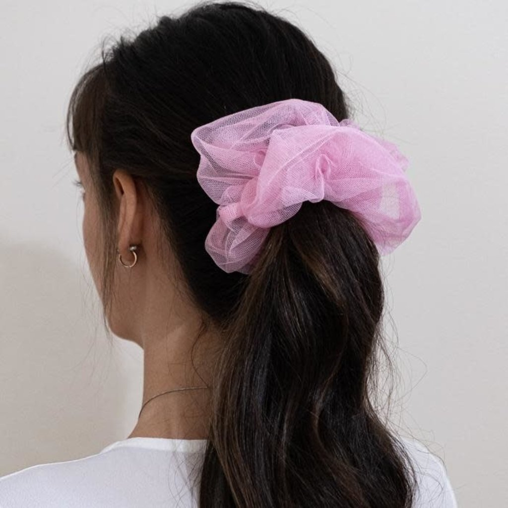 Enrose.bytu Chou à cheveux - Pink Magic