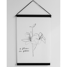 À deux Affiche - À fleur de pot
