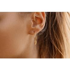 Twenty Compass Boucles d'oreilles - Mermaid Vermeil