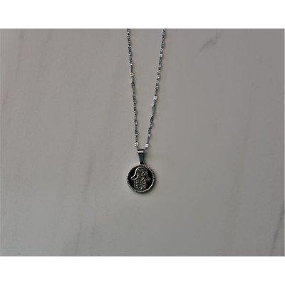 Créations boho Collier - Maya argent