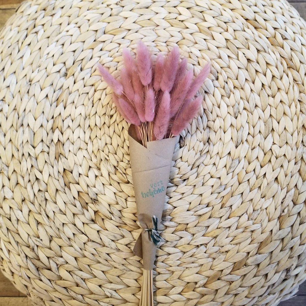 Vert Bohème Bouquet - Queue de lapin