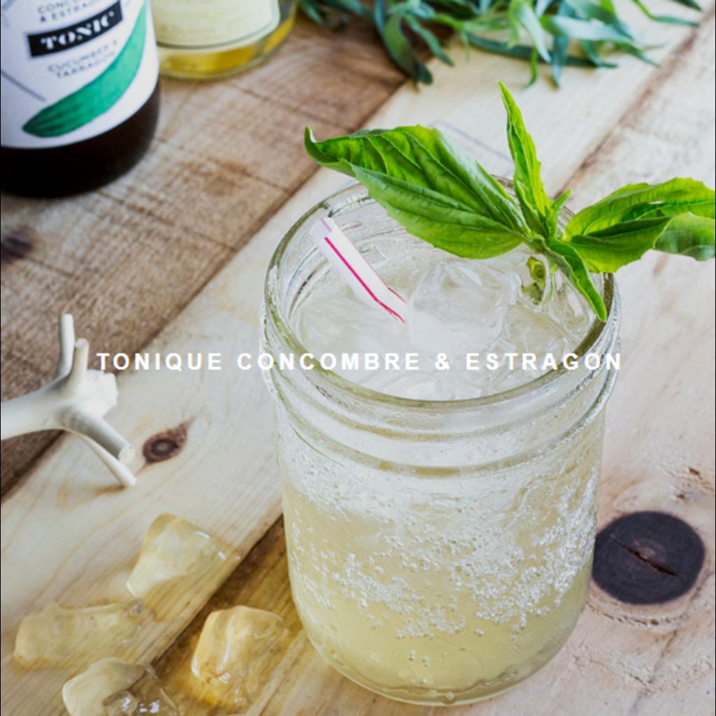 Les Charlatans Sirop - Tonique - Concombre Estragon