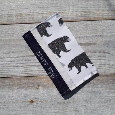 Protège carnet de santé - Ours