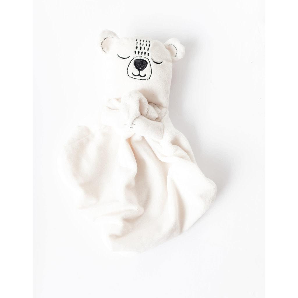 Veille sur toi Doudou ours polaire - Boris