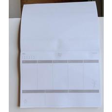 Naomie Design Planificateur de la semaine