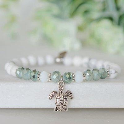 Namasty Bracelet Namasty - Tortue vert