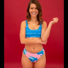 POP underwear Maillot de bain réversible - I whaley like you - Haut