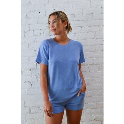 Dailystory clothing Maxim Boyfriend T-shirt - Sky