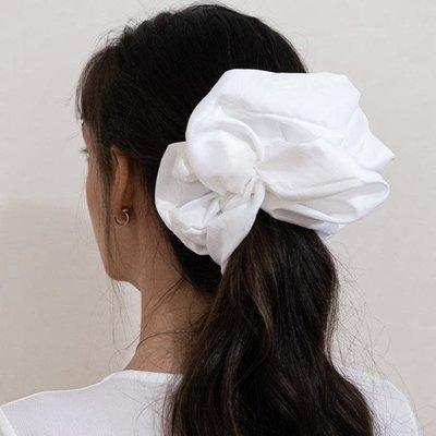 Enrose.bytu Chou à cheveux - Huge White XL
