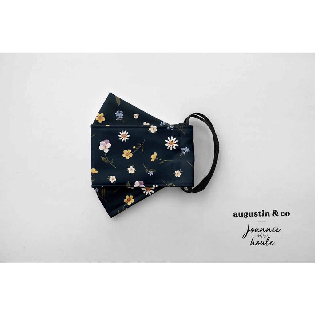 Augustin & Co. Masque - Série Artiste - Joannie Houle / Marine