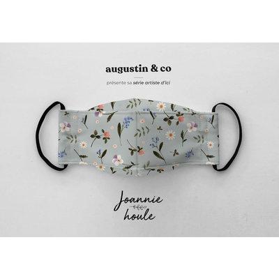 Augustin & Co. Masque - Série Artiste - Joannie Houle / Pastel