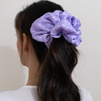 Enrose.bytu Chou à cheveux - Lila-Sita