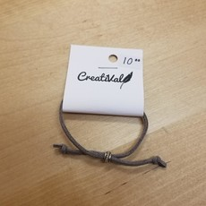 Bracelet suède - Charcoal