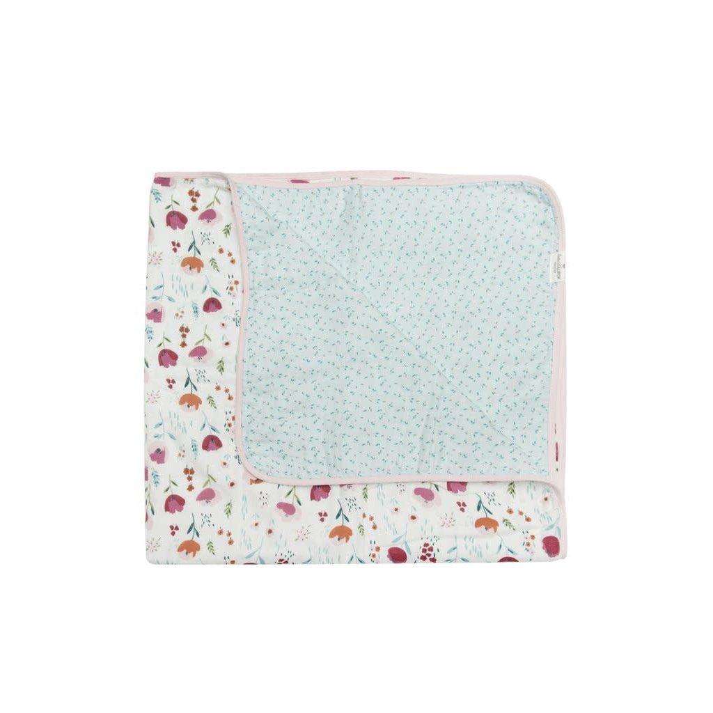 Loulou lollipop Couverture matelassée - Rosey Bloom