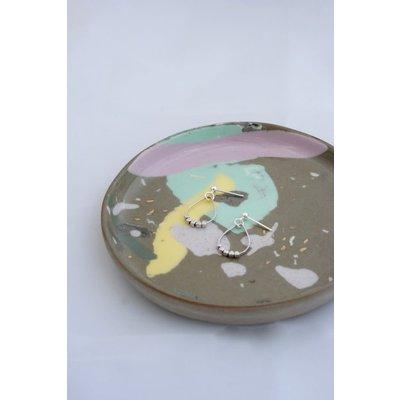 Boucle d'or Boucles d'oreilles - Pendentif goutte argent