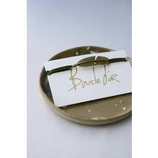 Boucle d'or Bracelet plume - Marron