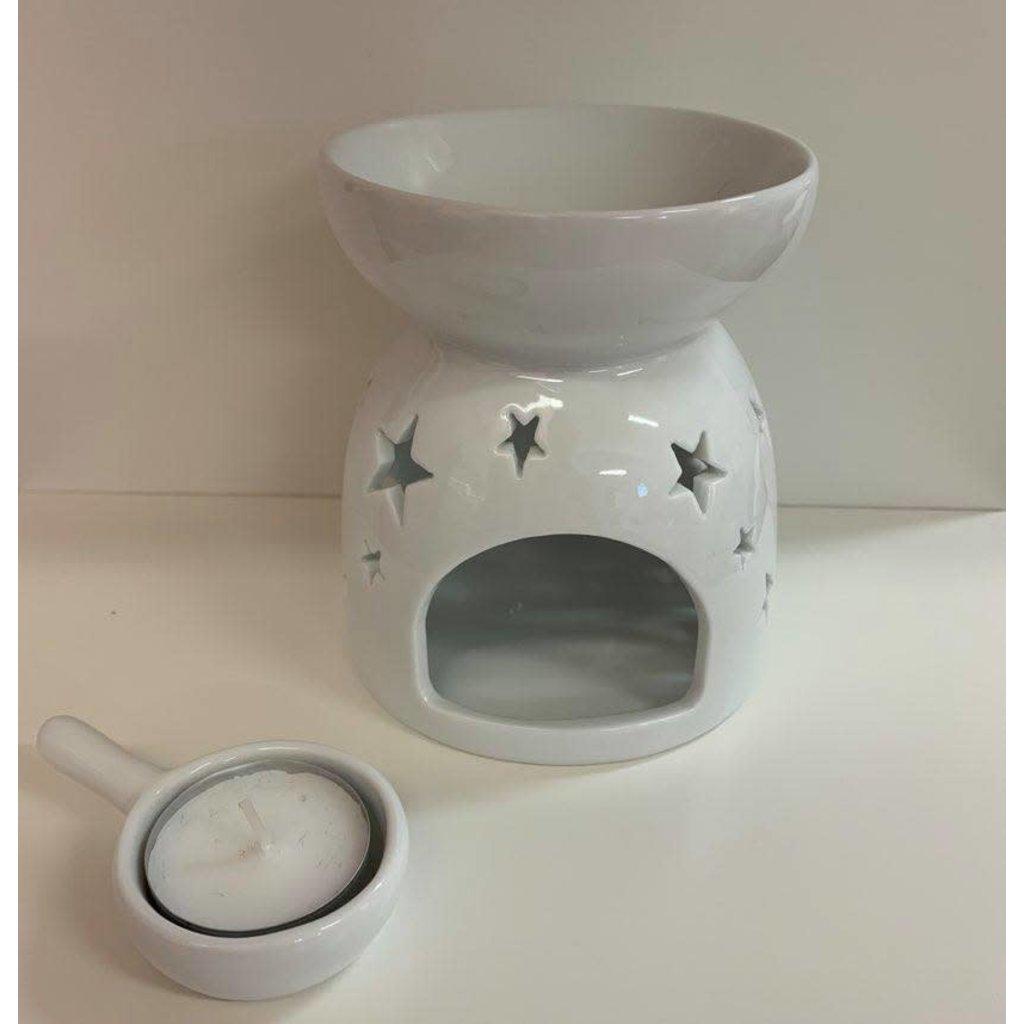 Inédit du Nord Diffuseur en céramique pour pastille de cire parfumée - Étoiles