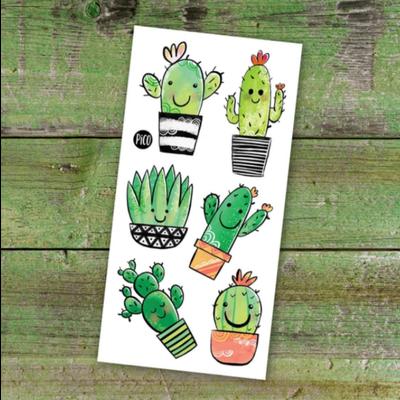 Picotatoo Tatouage - Cactus