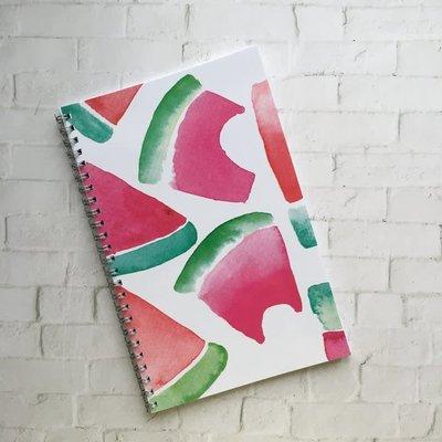 Kit de Survie Cahier à spirale lignée - Melon d'eau