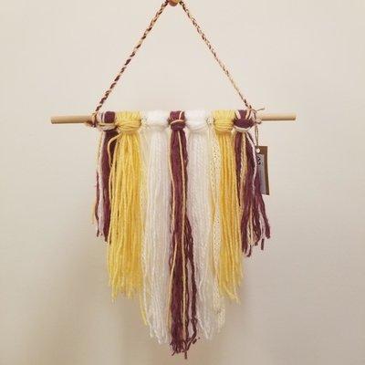 Pö créations Macramé coloré en laine