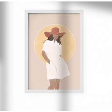 Les barbos Carte postale - Illustration Lesbarbos