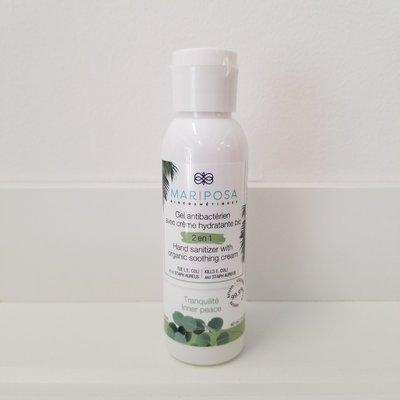 Mariposa Biocosmétiques Gel antibactérien 2 en 1 - 60 ml - Tranquilité