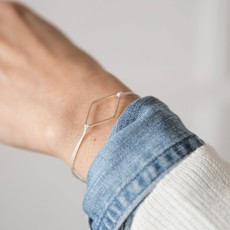 Si Simple Bracelet - Diamant