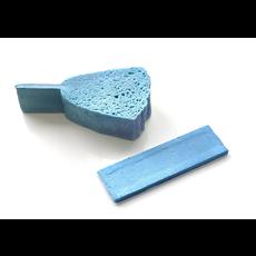 KLIIN Éponge compressée biodégradable bleue