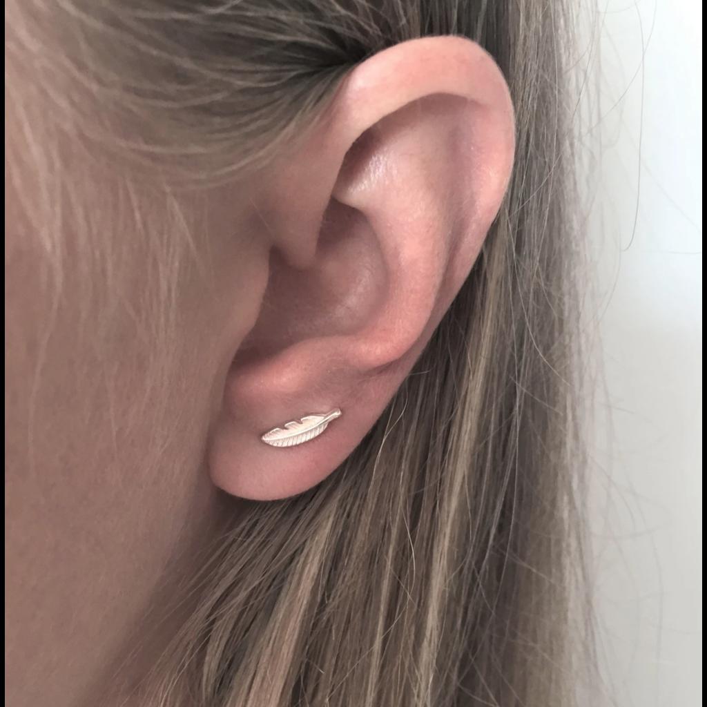 Neuf vingt cinq Boucle d'oreilles - Les Feuillues