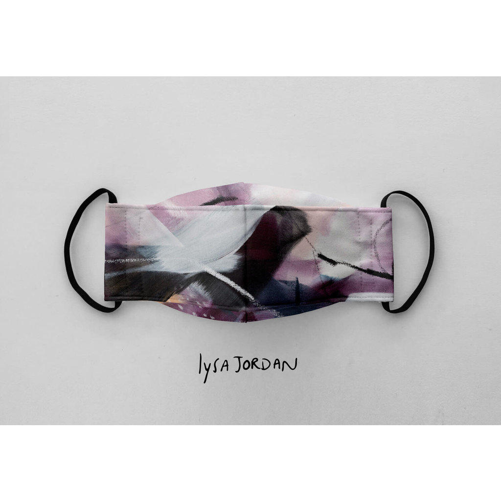 Augustin & Co. Masque - Série Artiste - Lysa Jordan / Violet