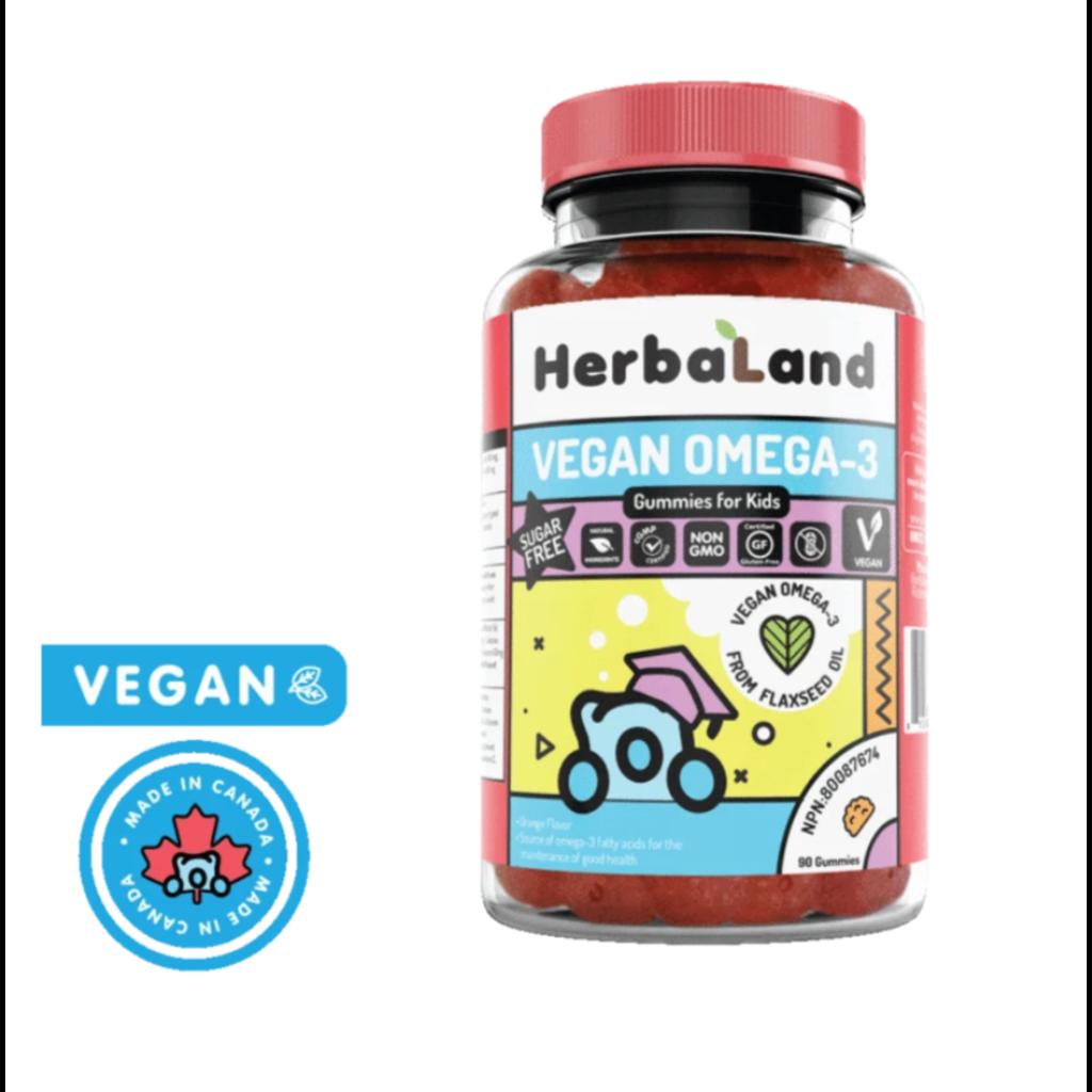 Herbaland Gummies - Omega-3 végétalien pour enfants