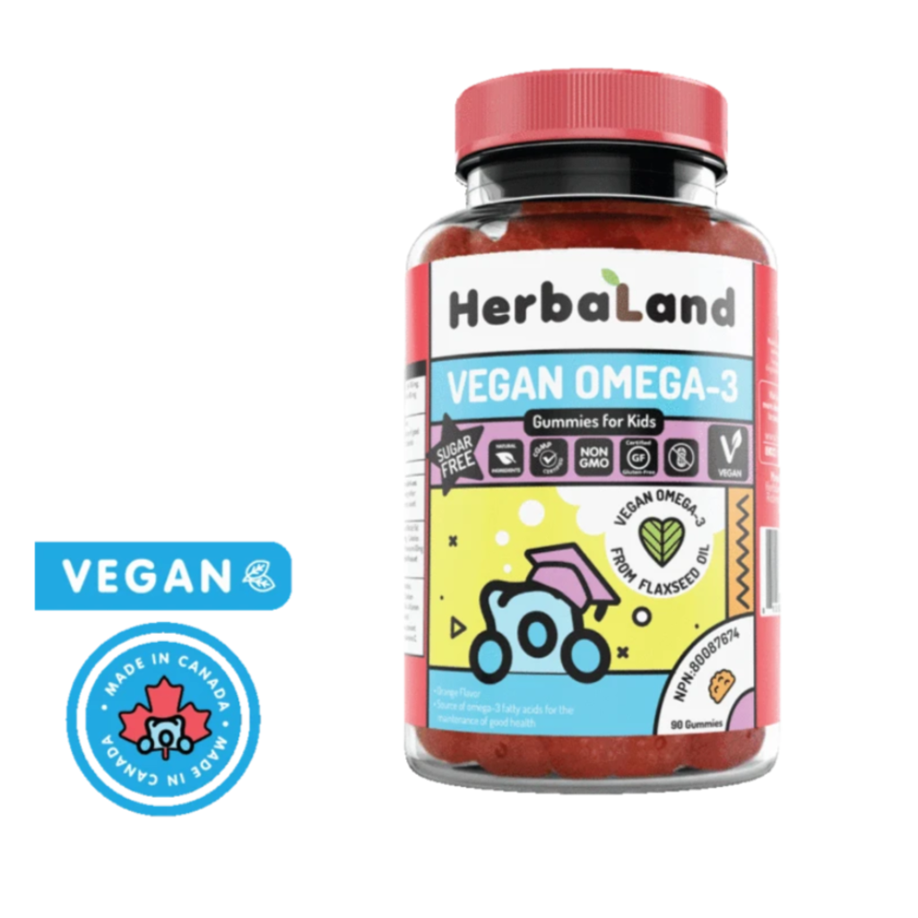 Herbaland Gummies - Vegan Omaga-3 enfants