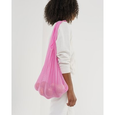 BAGGU Sac réutilisable en filet - Rose