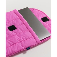 BAGGU Housse pour ordinateur portable gonflée - Rose