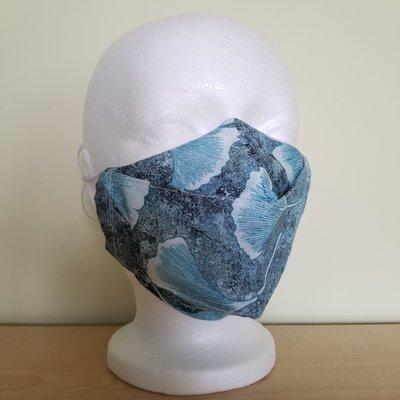 Maskalulu Masque - Fleurs bleues