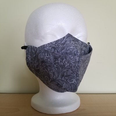 Maskalulu Masque - Plumage gris